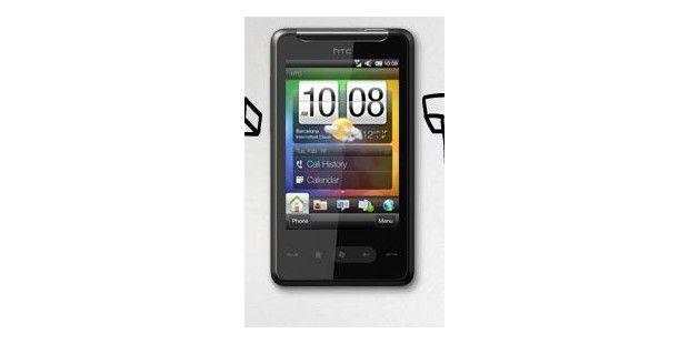 Schöne Menüführung auf dem HTC HD mini