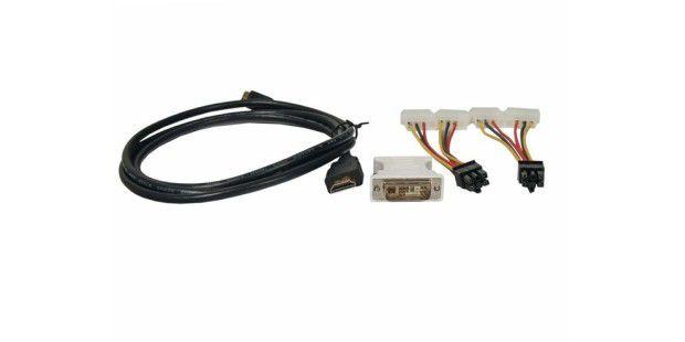 Mehrwert: Der Gigabyte GV-N460SO-1GI liegt ein 1,5 Meterlanges HDMI-Kabel bei.