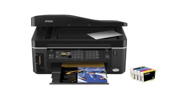Viele Schnittstellen: Epson Stylus SX600FW
