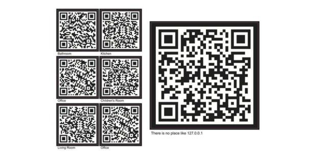 qr codes zum aufkleben pc welt. Black Bedroom Furniture Sets. Home Design Ideas