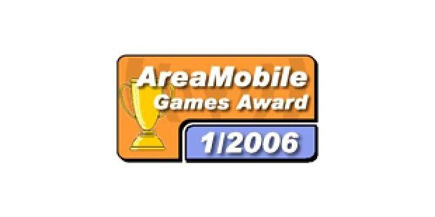 Amys Adventure erhält den AreaMobile Game Award 1/2006