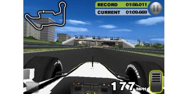 iPhone-App Brawn GP