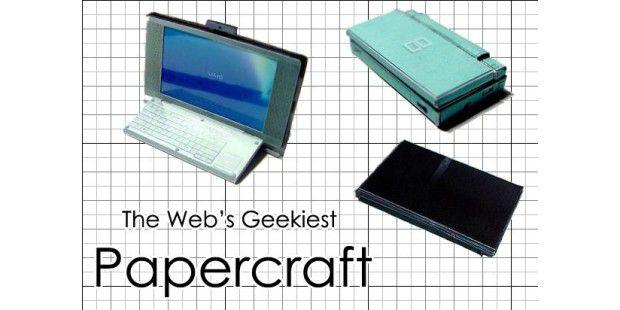 Schere, Kleber, Papier: Gadgets zum Basteln
