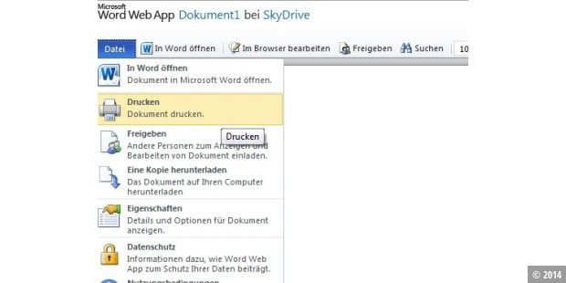 Microsoft verbessert Office Web Apps