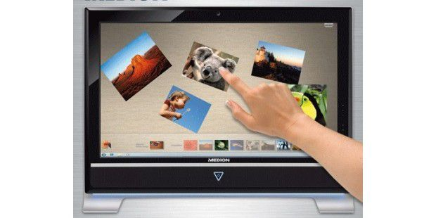 All-in-one-PC mit Multitouch bei Aldi