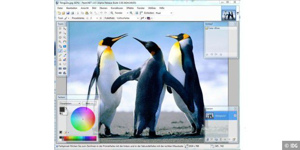 Paint.Net 3.50 Alpha