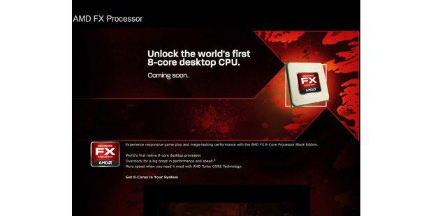 Heiß ersehnt und bald zu haben: AMDs FX-Prozessor derBulldozer-Klasse mit 8 Kernen.