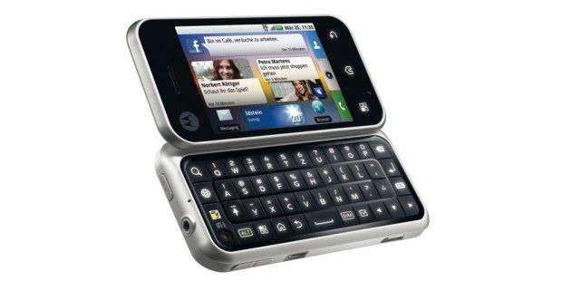 Motorola Backflip im Test