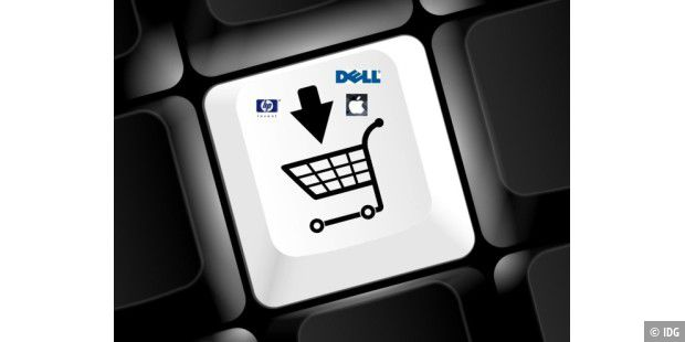 Teaser E-Commerce Dell, HP, Apple