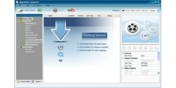 Download-Tipp: Any Video Converter Free
