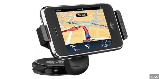 TomTom-Car-Kit für das iPhone an