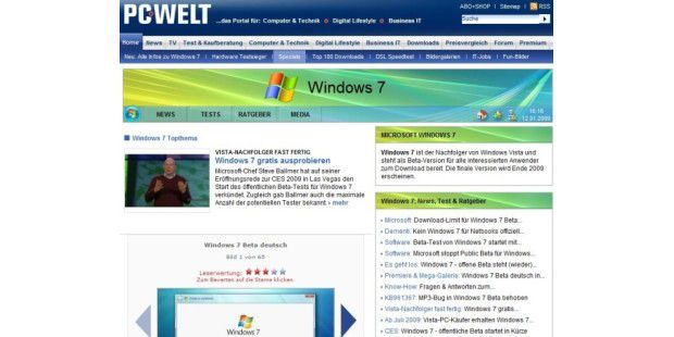 Windows 7 - Alle Infos, Tests & mehr