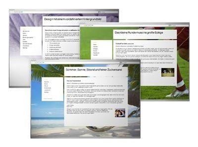 neue homepage designs f r strato livepages pc welt. Black Bedroom Furniture Sets. Home Design Ideas