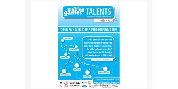 Recruiting einmal anders: Making Games Talents