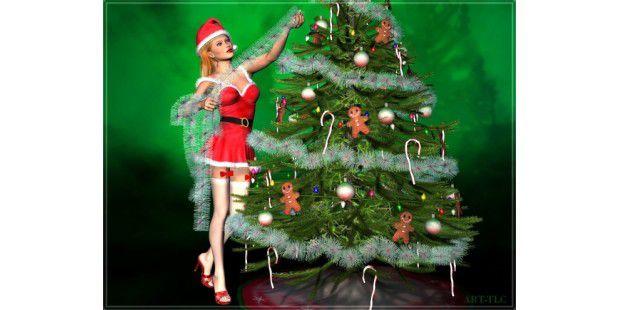 Zauberhafte Weihnachts-Wallpaper