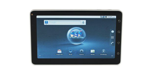 Android-Tablet im Test: Viewsonic Viewpad 7
