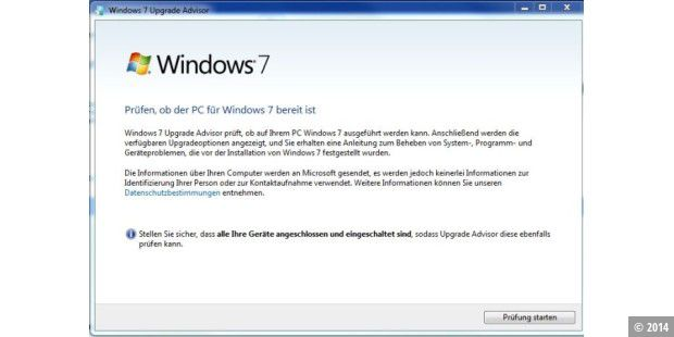 Download des Tages: Windows 7 Upgrade Advisor