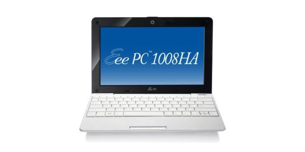 Flaches Netbook mit Windows 7 im Test: Asus Eee PC 1008HA