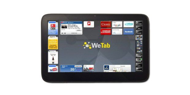 Tablet-PC: WeTab