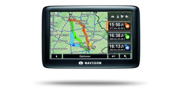 Clevere Routen: Navigon 3310 max