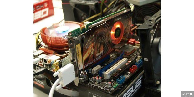 Test: Nvidias neuer Superchip in der 3D-Karte Zotac Geforce 8800 GT