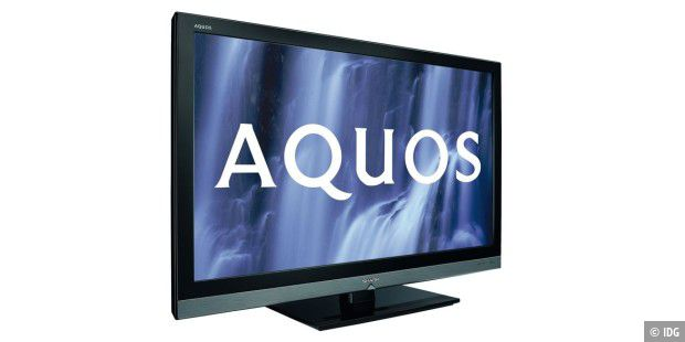 Aquos-Serie von Sharp: Full-LED-Backlight