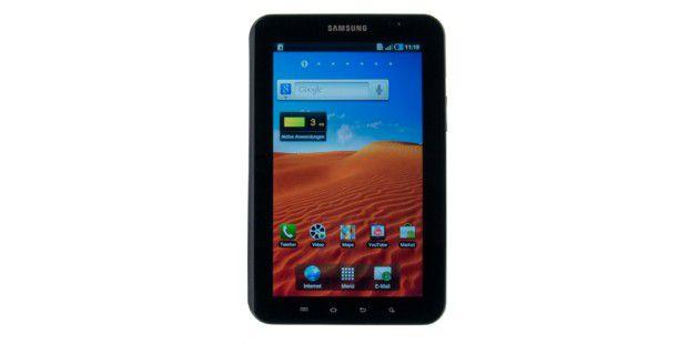 Samsung Galaxy Tab P1000: Das 7-Zoll-Tablet im Härte-Test