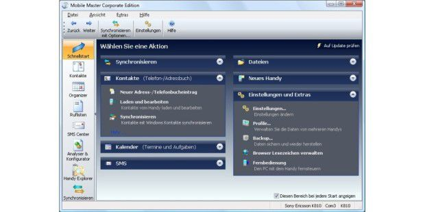 Download-Tipp: Mobile Master