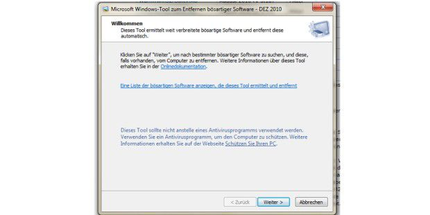 Microsofts Anti-Malware-Tool in neuer Version