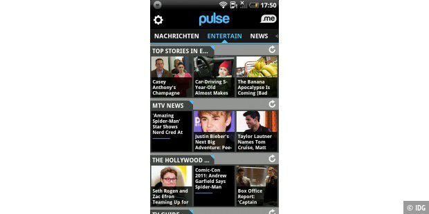 "Android-App ""Pulse News"""