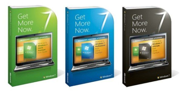 Das Windows Anytime Upgrade funktioniert erst unter Windows 7 wie es soll