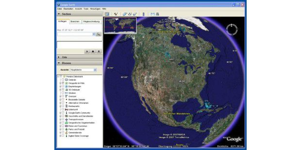 Google Earth im Browser