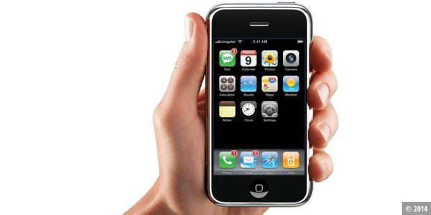 Apple iPhone in der Hand