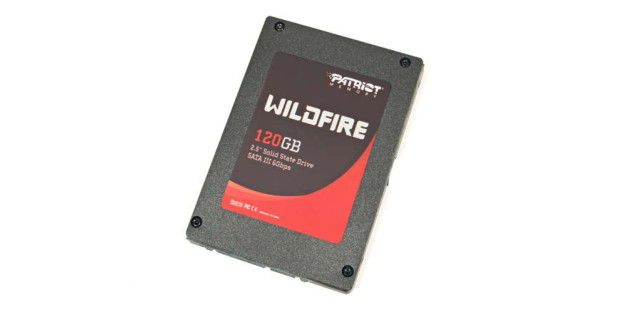 SSD im Test: Patriot Wildfire 120GB (PW120GS25SSDR)