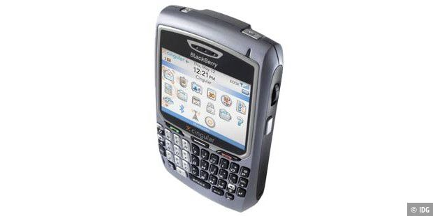 Blackberry 8700c: RIMs neuester Push-Mail Handheld