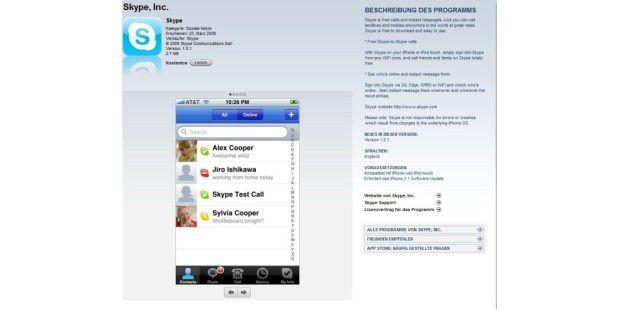 iPod Touch 2g kann jetzt auch telefonieren