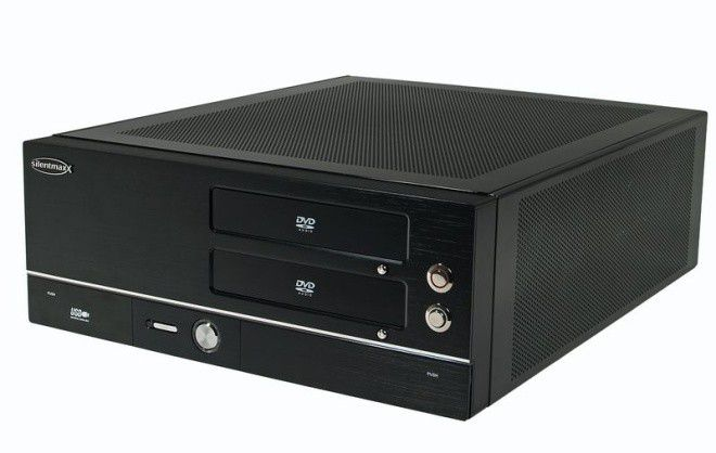 silentmaxx htpc fanless amd im test pc welt. Black Bedroom Furniture Sets. Home Design Ideas