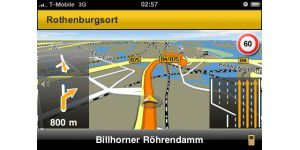 Navigationssoftware für iPhone im Test
