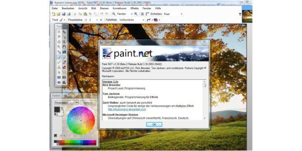 Paint.Net 3.30 Beta 2