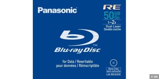 Panasonic Blu-ray 50 GB