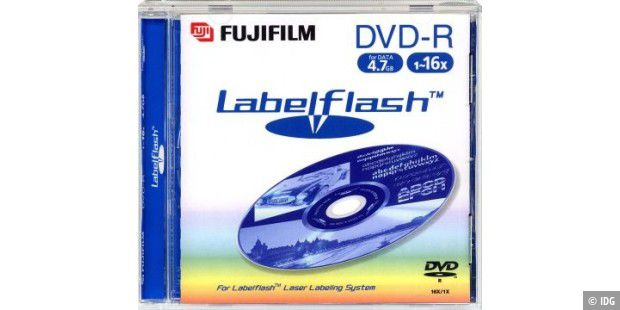 Fuji Magnetic - Labelflash-DVD