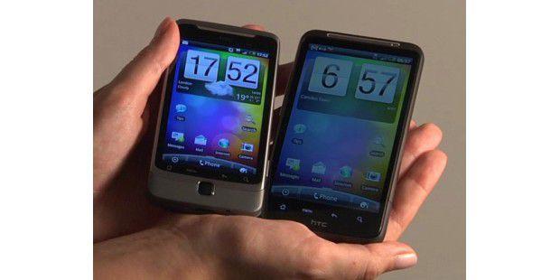 Neue Flagschiffe von HTC: HTC Desire HD und HTC Desire Z