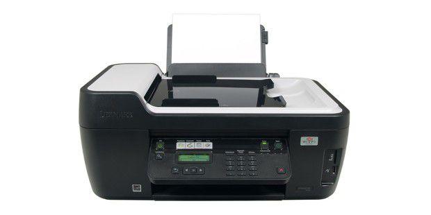 Das Lexmark Interpret S405 ist ein solides Tinten-Kombigerät mit integriertem Fax.
