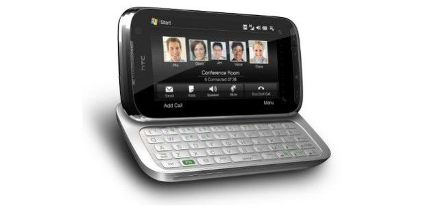 Business-Riese mit Tastatur: HTC Touch Pro 2