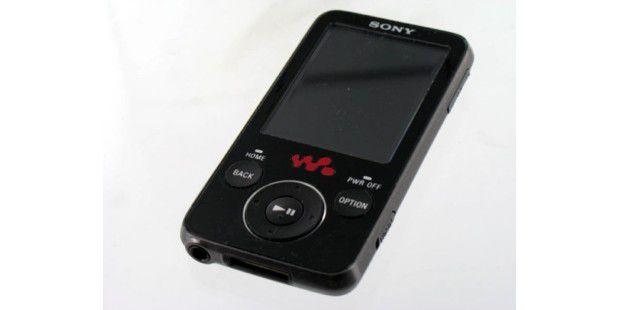 Klasse Technik, sehr robust: Sony NWZ-E438F: