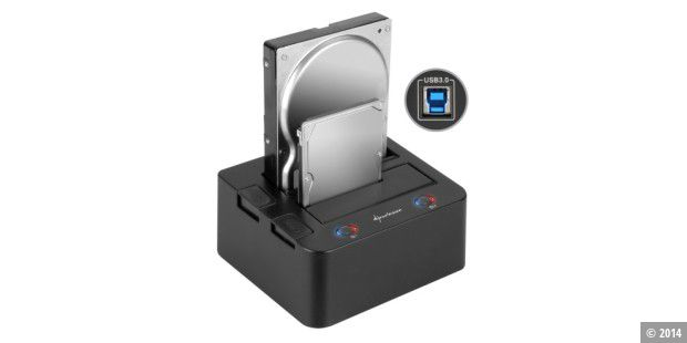 Sharkoon SATA Quickport Duo USB 3.0