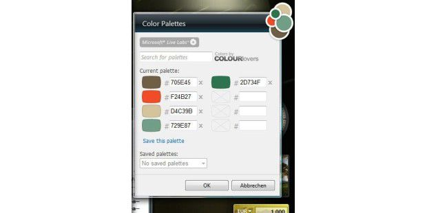 Colour Picker Gadget
