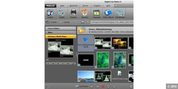Magix digital foto maker 8 pc-welt.