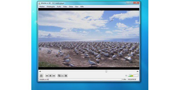 VLC media player 1.0.0 RC