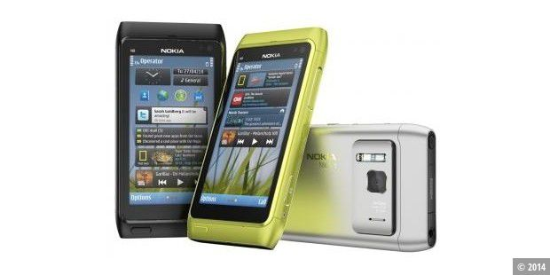 E7 wird Star der Nokia World 2010